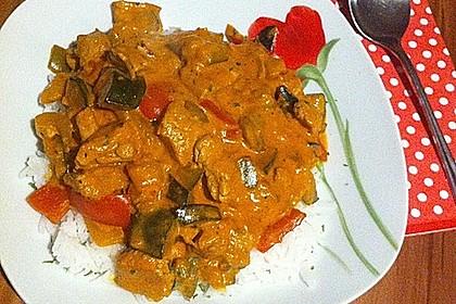 Puten - Gemüse - Pfanne mit Feta 9