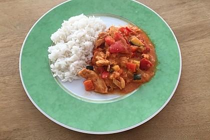 Puten - Gemüse - Pfanne mit Feta 20