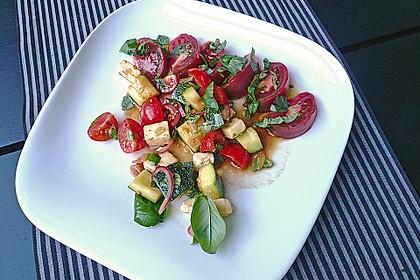 Zucchini - Tomaten - Salat 1