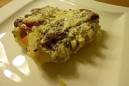 Rahm - Champignons im Kartoffelbett 1