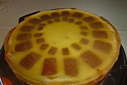 Orangen - Käsekuchen mit  After eight 1