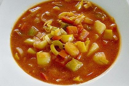 Kartoffel - Paprika -  Eintopf 1