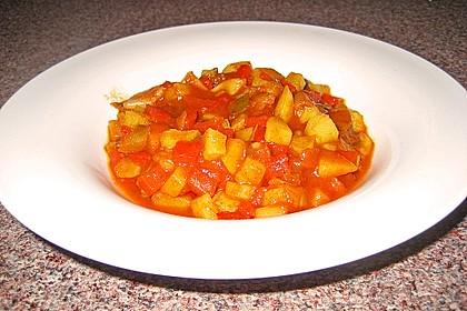 Kartoffel - Paprika -  Eintopf