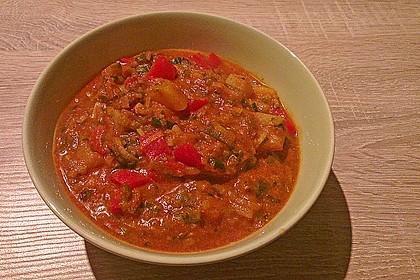 Kartoffel - Paprika -  Eintopf 4