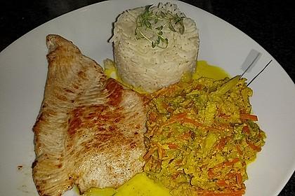 Spitzkohl - Möhren - Curry