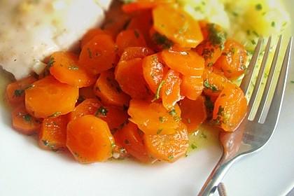 Glasierte Honig - Karotten 1
