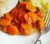 Glasierte Honig - Karotten