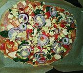 Vollkorn - Pizza (Bild)