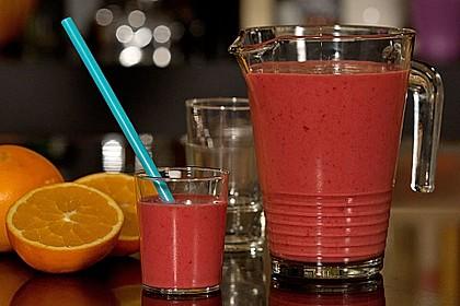 Himbeer - Orangen - Smoothie 5