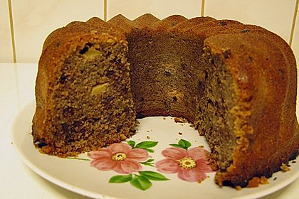 Schoko - Apfel - Kuchen 3