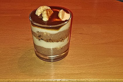 Bananen - Vanille - Schokocreme - Dessert 19