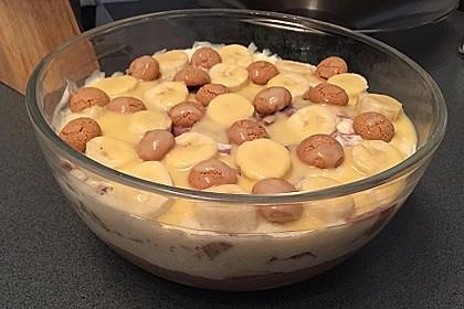 Bananen - Vanille - Schokocreme - Dessert 14