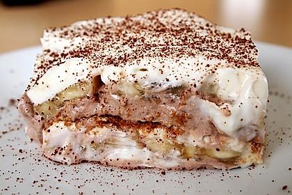 Bananen - Vanille - Schokocreme - Dessert 12