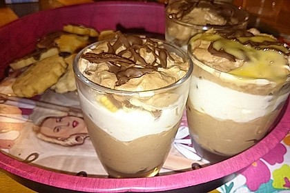 Bananen - Vanille - Schokocreme - Dessert 30