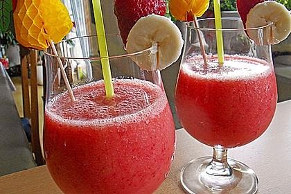 Erdbeer - Smoothie 1