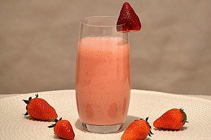 Erdbeer - Smoothie 2