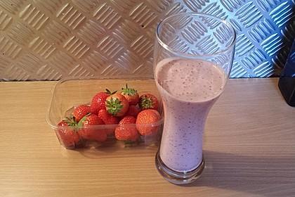 Erdbeer - Smoothie 21