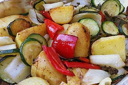 Gegrilltes Gemüse 3