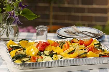 Gegrilltes Gemüse 1