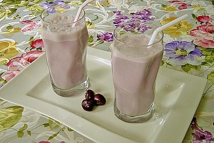 Kirsch - Kokosnuss - Shake