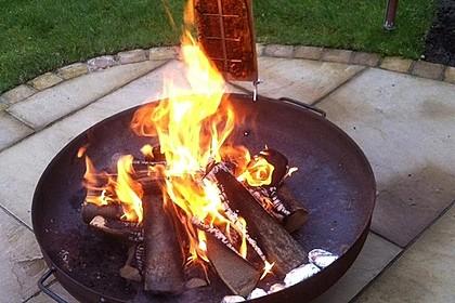 Würziger Flammlachs vom Feuer 4