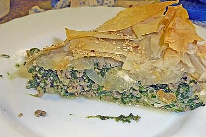 Griechischer - Hack - Spinat - Kuchen 2