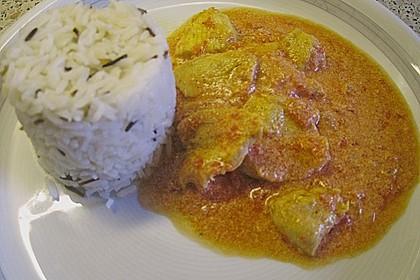Indisches Tomaten-Hähnchen Curry 1