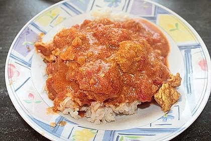 Indisches Tomaten-Hähnchen Curry 2