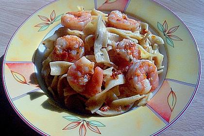 Garnelen in Chutney - Tomaten - Sugo zu Pasta 2