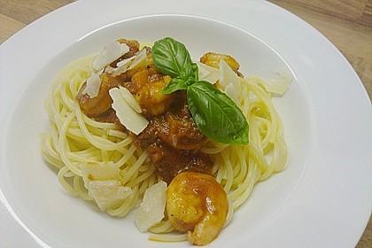 Garnelen in Chutney - Tomaten - Sugo zu Pasta 1