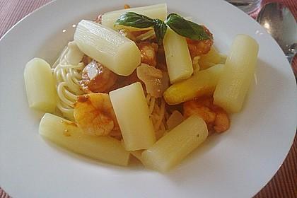 Garnelen in Chutney - Tomaten - Sugo zu Pasta 3