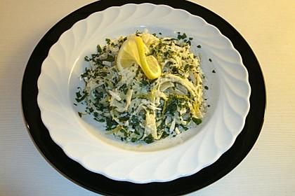 Tagliatelle mit Zitronen-Basilikum-Sauce 8
