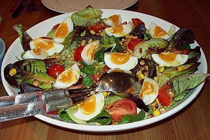 Gemischter Salat mit Honig - Senf - Dressing 1