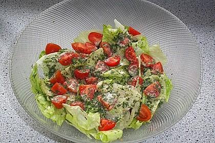 Gemischter Salat mit Honig - Senf - Dressing 4