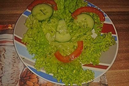 Gemischter Salat mit Honig - Senf - Dressing 3
