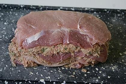 Schweineschichtbraten aus dem Schweinerücken 2