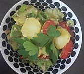 Kartoffel - Avocado Salat