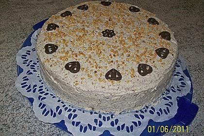 Sahne - Nuss -Torte 5