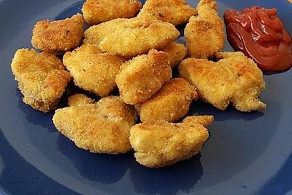 Chicken Nuggets oder Hähnchen Crossies 5