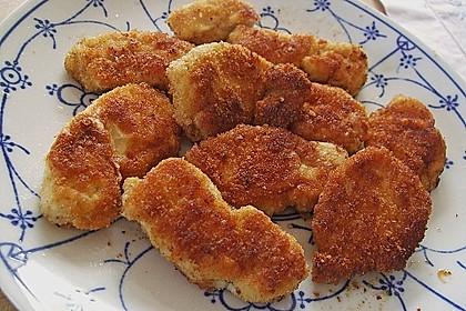Chicken Nuggets oder Hähnchen Crossies