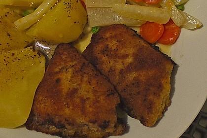 Chicken Nuggets oder Hähnchen Crossies 16