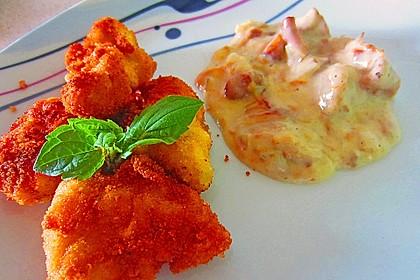 Chicken Nuggets oder Hähnchen Crossies 7