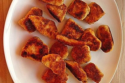 Chicken Nuggets oder Hähnchen Crossies 3