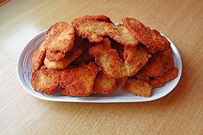 Chicken Nuggets oder Hähnchen Crossies 6