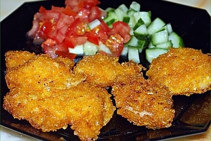 Chicken Nuggets oder Hähnchen Crossies 8