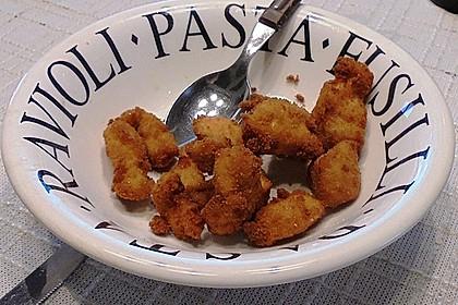 Chicken Nuggets oder Hähnchen Crossies 10