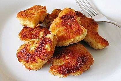 Chicken Nuggets oder Hähnchen Crossies 13