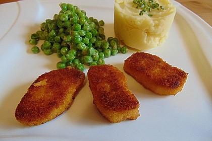 Chicken Nuggets oder Hähnchen Crossies 17