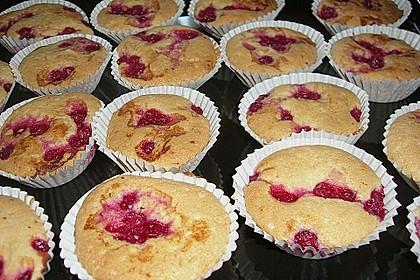 Muffins mit verschiedenem Obst 11