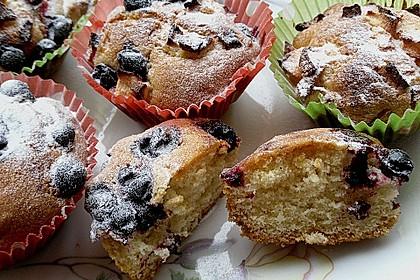 Muffins mit verschiedenem Obst 2